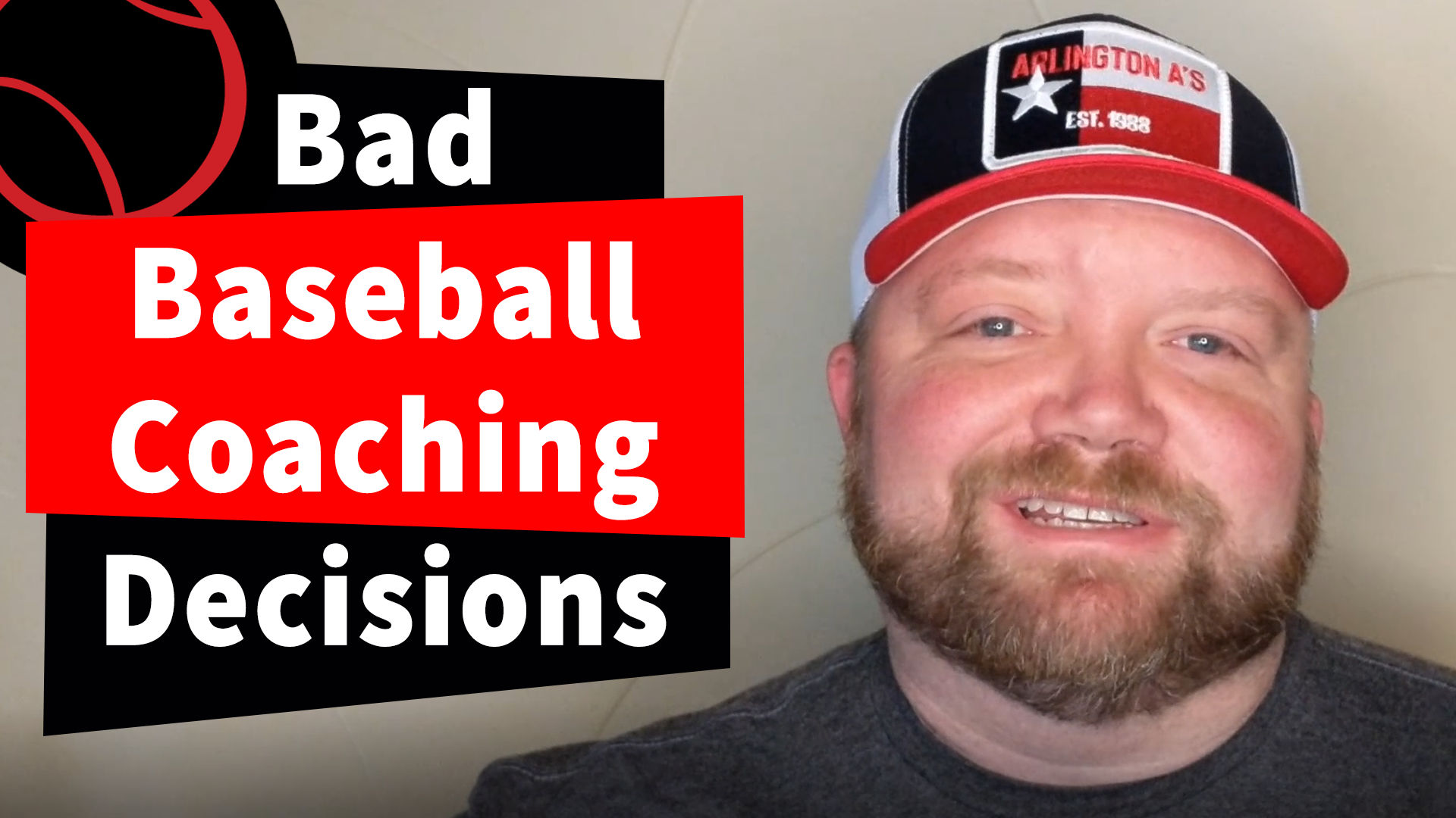 3 Ways to Lose a Baseball Game, Coaching for Dummies